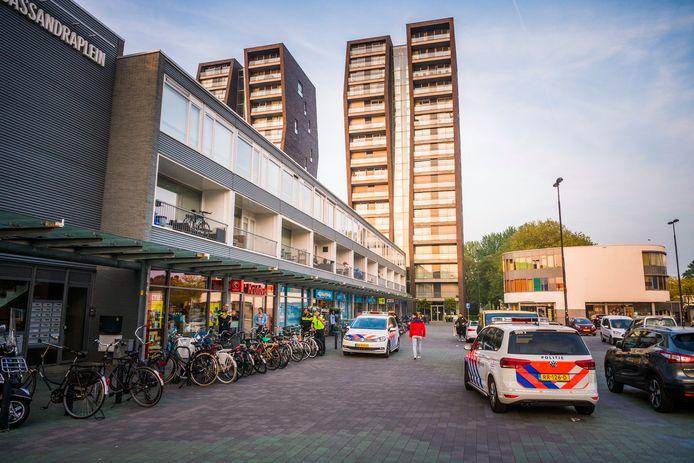 Jongens plegen gewapende overval op Kruidvat in Eindhoven