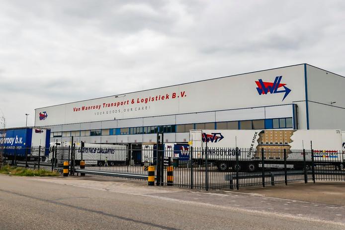Het distributiecentrum van het voormalige Van Wanrooy Transport in Oosterhout is verkocht aan vastgoedontwikkelaar DHG.