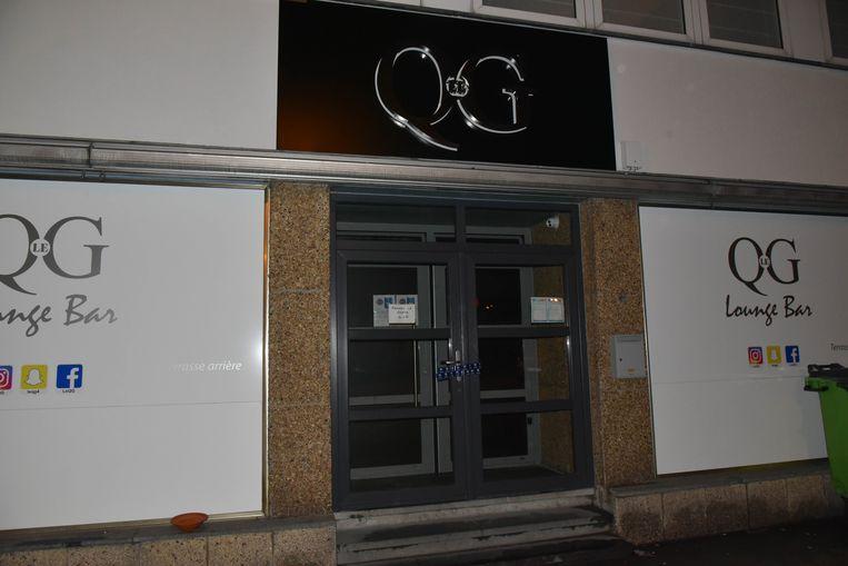 Le QG werd zaterdagnacht op bevel van de arbeidsauditeur verzegeld.