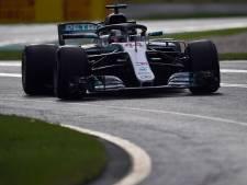 Cursus onbeschoft hard laagvliegen van Lewis Hamilton