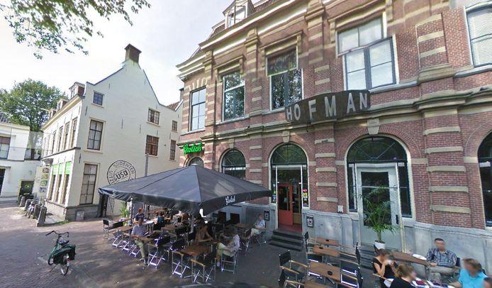 Café Hofman aan het Janskerkhof.
