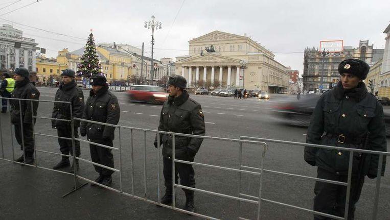 Moskou maakt zich op voor een dag van zware protesten. Beeld reuters