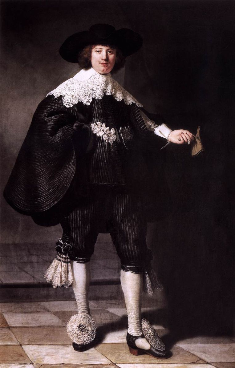 Het portret van Maerten Soolmans. Beeld