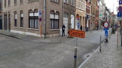 Rijrichting in De Stuersstraat tijdelijk omgedraaid door werken in de Tempelstraat