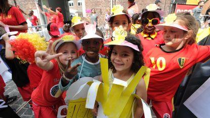 800 kinderen scoren met 'Wereldbekerstraat'