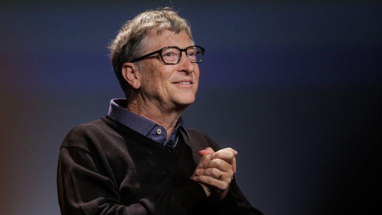 Bill Gates, medeoprichter van Microsoft en filantroop. Beeld Photo News