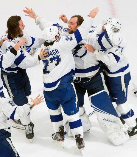 IJshockeyers van Tempa Bay Lightning winnen de Stanley Cup