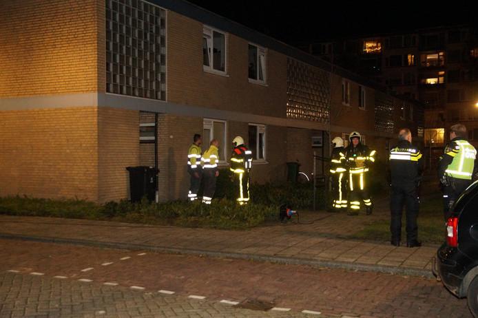 Gaslek in Waalwijk