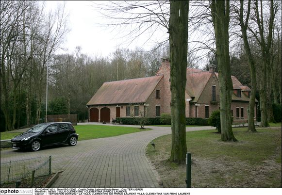 Villa Clementine, waar Prins Laurent woont.