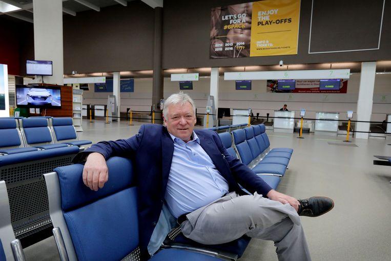 Marcel Buelens, CEO van de Oostendse luchthaven, is verheugd met de komst van Pobeda.