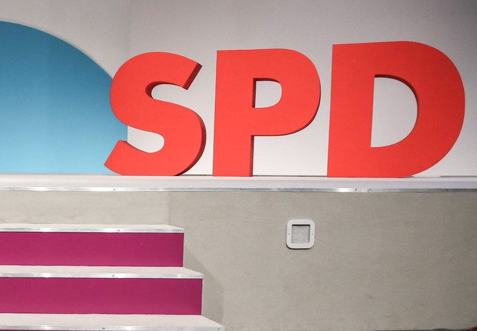Partijlogo van de SPD.