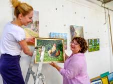25.000 roebel voor schilderij van blote vrouw