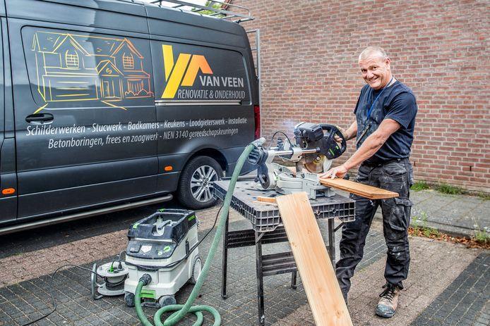 Etienne van Veen: 'Op het ogenblik moet ik tegen klanten zeggen: 'Sorry, ik zit helemaal vol. Volgende maand heb ik weer een gaatje'.