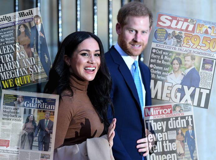 De voorpagina's van de Britse media: snoeiharde taal.