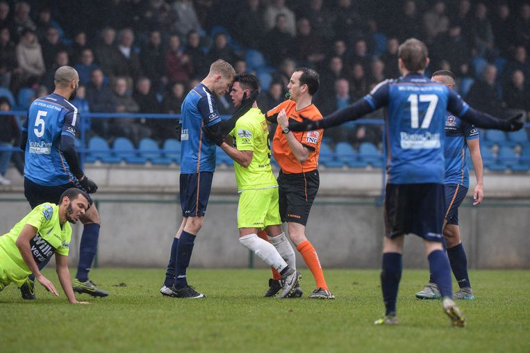 De duels tussen Aalst en Dender zijn altijd geladen.