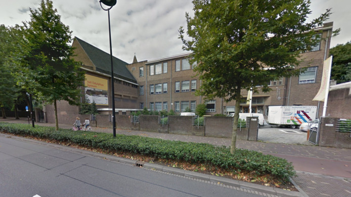 Het Odulphuslyceum aan de Noordhoekring in Tilburg.
