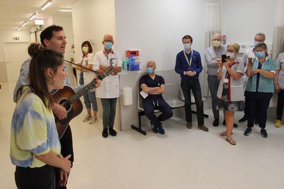 Tom en Kato gingen ook langs bij de medische beeldvorming.