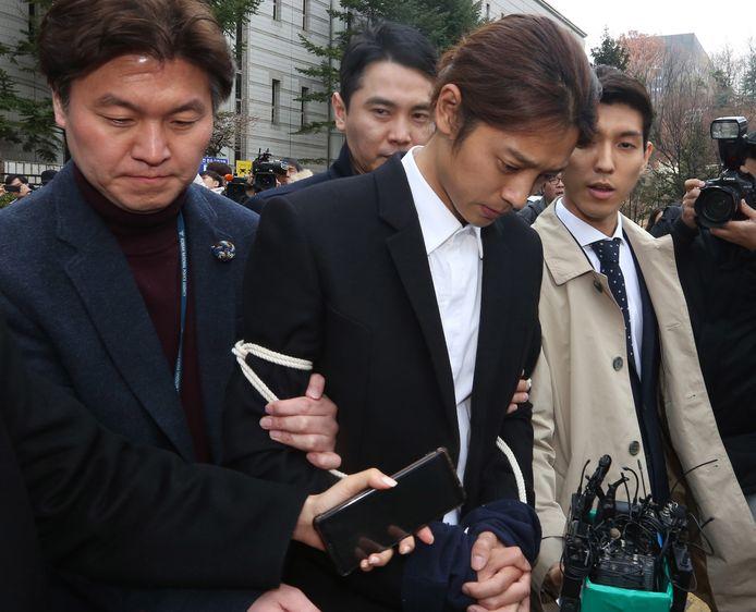 Jung Joon-young werd schuldig bevonden.
