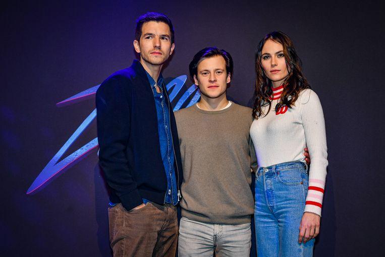 Matteo Simoni, Jonas Vermeulen en Charlotte Timmers