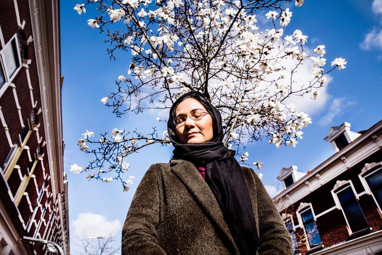 Shirin Musa is de oprichter en de drijvende kracht achter de Nederlandse vrouwenrechtenorganisatie Femmes for Freedom.  Beeld Aurélie Geurts