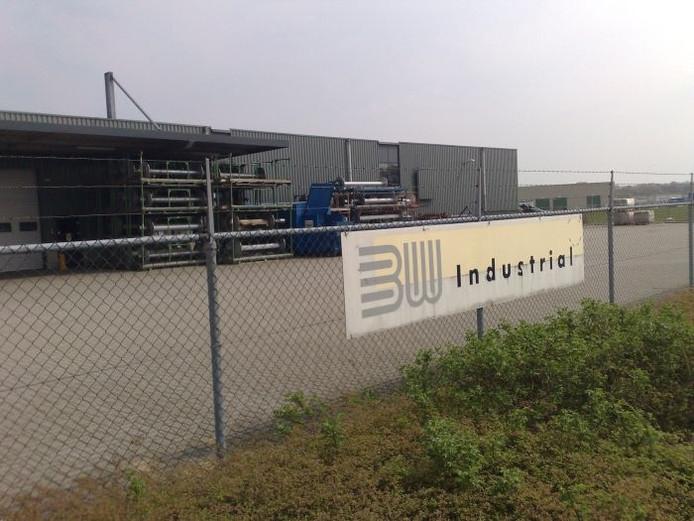 De poorten van het failliete BW Industrial zijn gesloten.