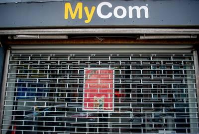 Failliet MyCom in Breda nog paar dagen open voor laatste uitverkoop