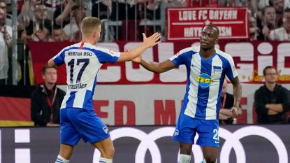 Lukebakio en Hertha houden Bayern München in bedwang