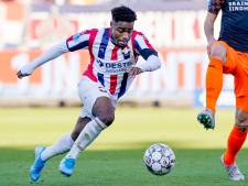 Internationals Willem II zwermen uit