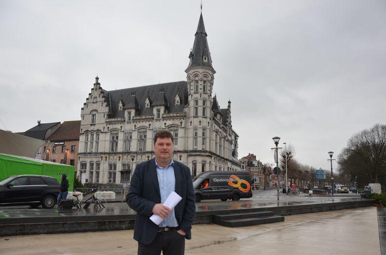Burgemeester Filip Anthuenis (Open Vld)