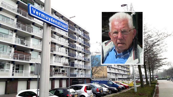 Dirk van den Belt verliet zondagochtend zijn huis aan de Vermuydenstraat in Kampen.