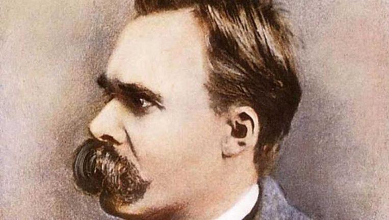Friedrich Nietzsche (1844-1900), Duitse filosoof Beeld