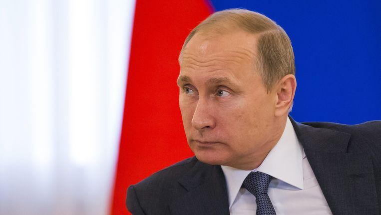 Russisch president Poetin.