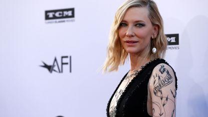 Cate Blanchett heeft eerste rol in toneelstuk beet