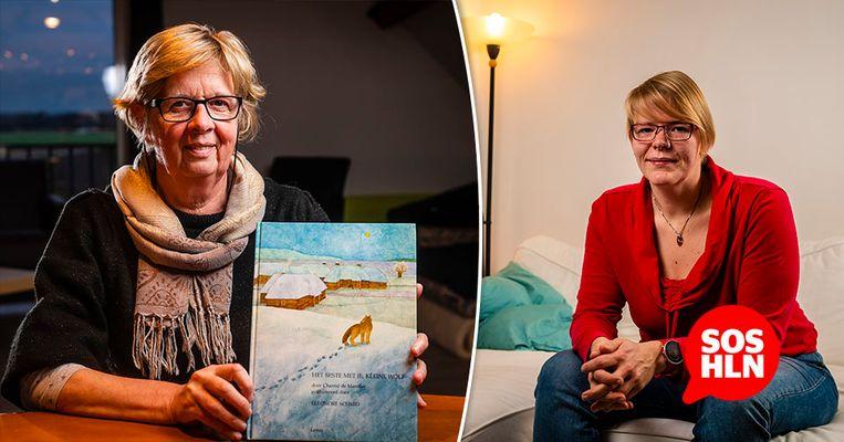 Veerle de Mulder wil het prentenboek graag schenken aan haar naamgenoot Veerle Leys, die eerder een oproep deed via SOS HLN.