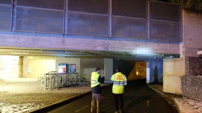 Vrachtwagen knalt tegen brug in Hoeilaart: treinverkeer anderhalf uur stil