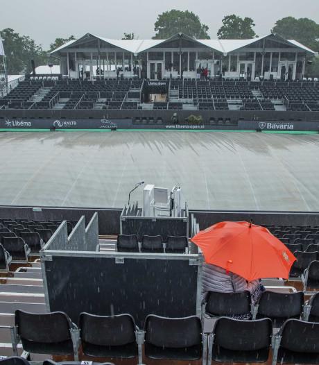 Geen tennis voor 14.00 uur in Rosmalen