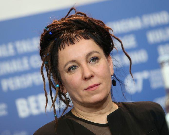 L'autrice polonaise Olga Tokarczuk