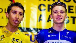 """Tourwinnaar Bernal puurt extra motivatie uit opmars Evenepoel: """"Door hem heb ik afgelopen maanden harder getraind"""""""
