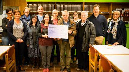 Boekenverkoop bib brengt 2.946 euro op