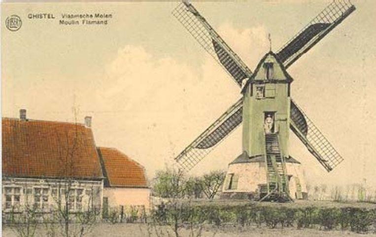 De Gistelse molen in de jaren 20
