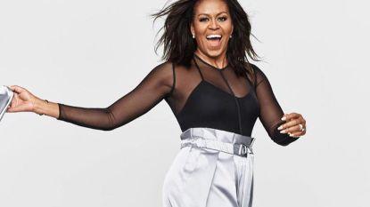 Michelle Obama draagt Murielle Scherre