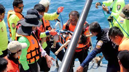 Dodental van scheepsramp in Thailand loopt op tot 41, veertien anderen nog vermist