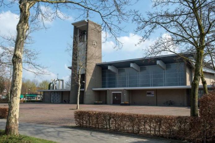De kerk in Someren-Heide.
