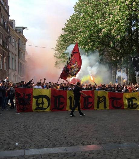 Corteo moet spelers GA Eagles hart onder de riem steken voor  thuiswedstrijd tegen FC Den Bosch