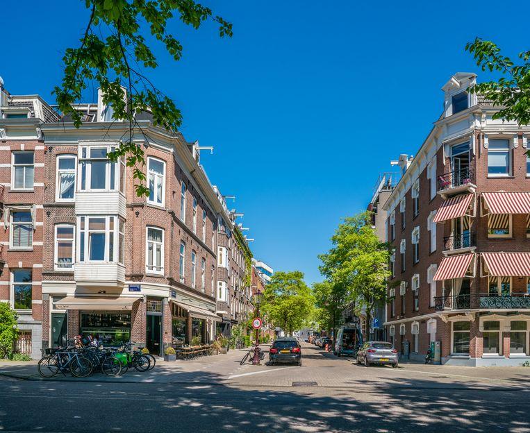 Hoek van de Weesperzijde en de Gijsbrecht van Aemstelstraat. Beeld Ivo Antonie de Rooij / Shutterstock.com