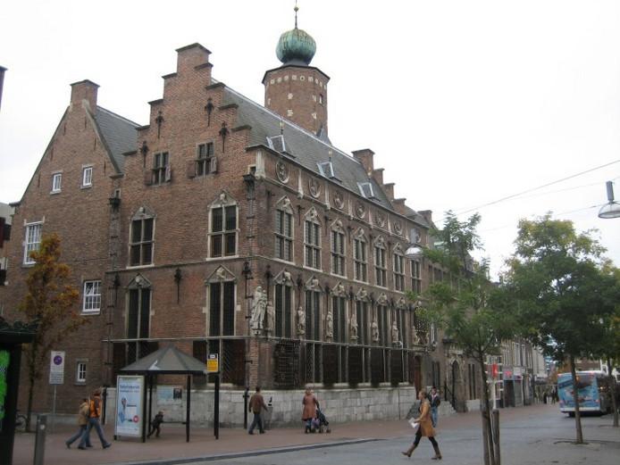 Het stadhuis van Nijmegen.