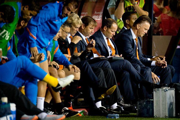 De oefeninterland België-Nederland in het Koning Boudewijnstadion in 2012 verloor Oranje met 4-2. Beeld anp