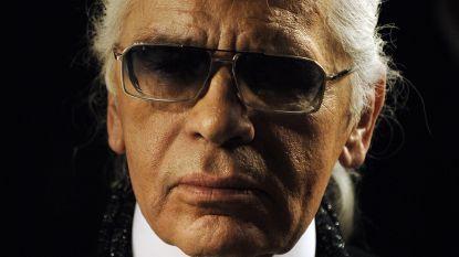 Ontwerper Karl Lagerfeld (85) overleden