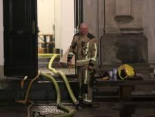 Veel schade bij Koninklijke Academie van Beeldende Kunsten door brand
