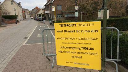 Traject Mere-Aalst vanaf maandag verkeersvrij: Kloosterstraat wordt 'schoolstraat' bij start en einde lessen
